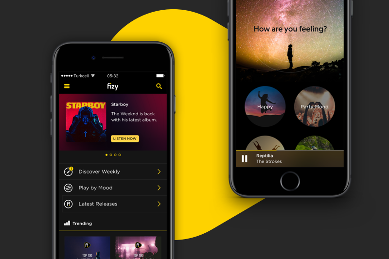 Turkcell Music (Fizy) Mobile App