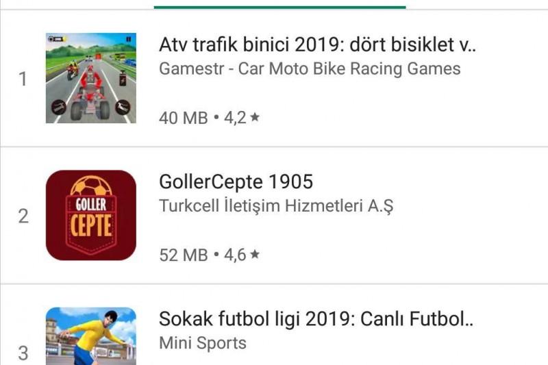 2 Apps in Top 4
